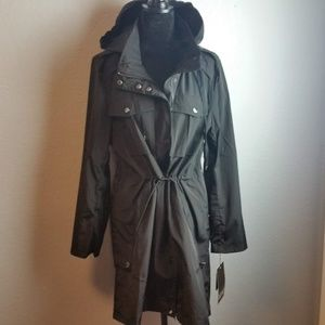 Badgley Mischka Dakota Water-Resistant Anorak
